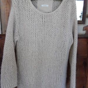 SUSS BEIGE SWEATER***SIZE LARGE
